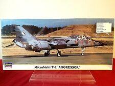 HASEGAWA 1:72 MITSUBISHI T-2 AGGRESSOR - PLASTIC MODEL KIT  -  FREE SHIPPING