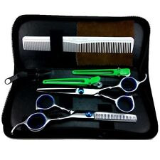 6pcs/set Pro Salon Barber Hair Cutting & Thinning Scissors Shears Hairdressing