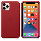 Authentic+Apple+Leather+Case+for+iPhone+11+Pro+5.8+%7C+RED+Snap+On+Cover%2C+Bumper