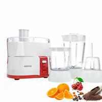 2in1 Multi Food Processor Blender Jug  Maker Juicer Mixer Grinder Shake