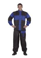 1 Piece Rain Suit Motorcycle Windproof Waterproof Gear Safety Reflectors Biker