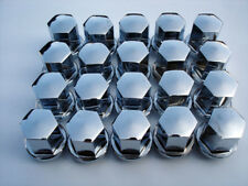 VW FUCHS ALLOY 911 TYPE CHROME BALL SEAT LUG NUTS FOR PORSCHE ALLOYS GAS BURNERS