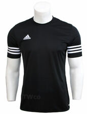adidas Mens Black White Entrada 14 Jsy Tee T-shirt Top F50486 Size L