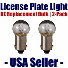 License Plate Bulb 2pk OE Replacement Fits - Listed Austin Vehicles - 1895