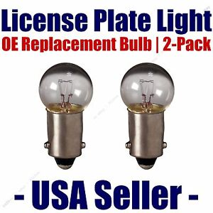 License Plate Bulb 2pk OE Replacement Fits - Listed Rover Vehicles - 1895