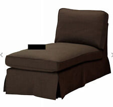 Ikea Ektorp Cover for chaise Lounge Svanby Brown Dark Slipcover New In Package