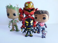 Lot of 5 Marvel Funko  Pops  Hulkbuster , YellowJacket , Groot , Antman , Mini