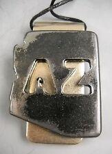 ARIZONA AZ Money Clip Handcrafted Steel  by Watto Distinctive Metal Wear USA