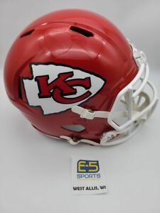 Kansas City Chiefs UNSIGNED Speed Replica Helmet Super Bowl 54 Champs Decal