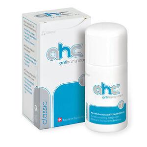 AHC classic Antitranspirant gegen Schwitzen und Schweiß 30ml kein Deo (AHC20)