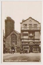 Devon postcard - Mols Coffee House, Exeter - RP (A3747)