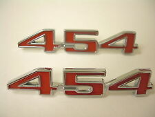 1973-1974 Corvette Hood Number Set 454 Pair Made in the USA