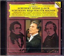 Claudio ABBADO: SCHUBERT Messe D.167 Tantum Ergo SCHUMANN Requiem für Mignon CD