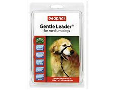 Beaphar Gentle Leader For Medium Dogs Red Halter like Control Collar