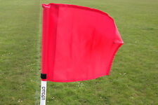 Set of four OTTOPT collapsible RED corner flags with posts, spike and carry bag