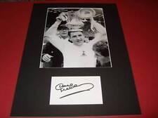 Dave Mackay Tottenham Hotspur FC Spurs Legend signed card photo mount COA AFTAL