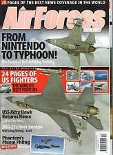 Air Forces Monthly 2008 December Phantom,USS Kittyhawk,Mig-21,Eurofighter