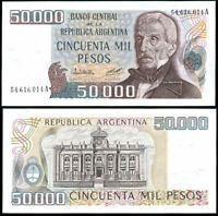 ARGENTINA 50000 50,000 PESOS 1979 P 307 AUNC about UNC