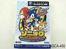 Sonic Mega Collection Gamecube Japanese Import Nintendo GC NGC Japan US Seller A
