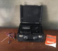 Vintage Simpson Roto Ranger Model 221 Volt Ohm Milliammeter Tester