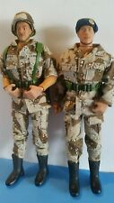 """GI Joe STYLE, Action Figures 12"""" Lot of 2 1998 - 2002 Formative Brand"""