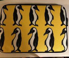 "Society 6 Penguins Laptop Sleeve 13"" NWOT"