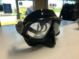 Aqua Lung Sphera FreeDiving Mask (black silicone) Black
