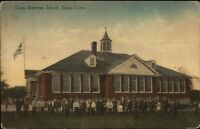 Essex CT Grammar School c1910 Postcard