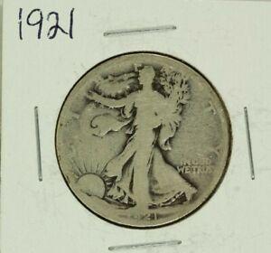 1921 Walking Half Dollar : Good