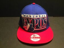 Montreal Expos New Era 9Fifty Cooperstown Collection MLB Snapback Cap