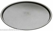 "2 x 12"" NON-STICK PIZZA PAN COOKING STAINLESS STEEL ROUND OVEN TRAYS 30CM"