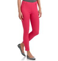 Faded Glory Hot Pink Jeggings Jeans Leggings Dance GoGo Pants Stretch Fit (a33)