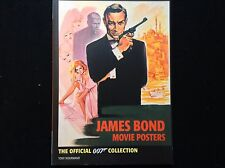 JAMES BOND MOVIE POSTER BOOK OFFICIAL 007 POSTER COLLECTION - BRAND NEW