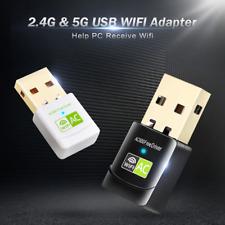 Wireless USB Wifi Adapter AC 600Mbps Wi-fi Adapter 2.4G 5G Network Card Antenna