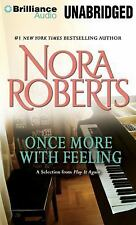 Nora Roberts ONCE MORE WITH FEELING Unabridged MP3-CD *NEW* FAST 1st CLASS SHIP