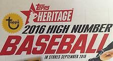 2016 TOPPS HERITAGE HIGH COMPLETE BASE SET 501-700