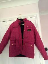 Kids Pink Barbour Jacket