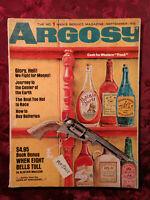 ARGOSY September 1966 Sept Sep 66 CYPRESS GARDENS SKIMBOARDS ALISTAIR MACLEAN