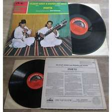 Vilayat Khan & Bismillah Khan - Duets LP Indian Folk Sitar 1967 Press UK