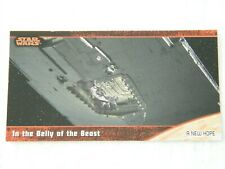 #1 A New Hope Star Wars Trilogy Topps Widevision Tradingcard (Not a sticker)