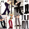 Womens Winter Warm Over The Knee Long Boots Thigh High Casual Pull on Shoes