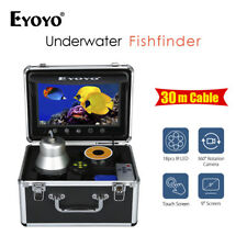 "EYOYO 1000TVL 360° 9"" 30M Fish Finder + LED Remote Water Well Monitoring Camera"