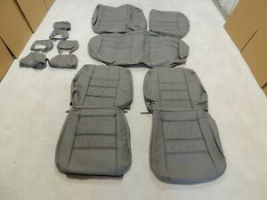 Roadwire Leather Seat Covers Fits Subaru Legacy Outback Wagon 2000-2004 Grey Q33