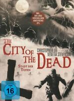 THE CITY OF THE DEAD-STADT DER TOTEN - LEE,CHRISTOPHER  2 BLU-RAY NEU
