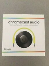 Google Chromecast Audio Wifi Wireless Streaming/versiegelt NEU