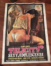 manifesto,4F FELICITY SEXY ADOLESCENZA Annen Lamond sexy hard erotico