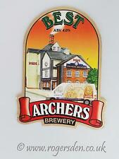 Archers Brewery Real Ale Pump Clip Best