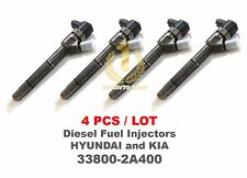 4PCS Bosch CRDI Diesel Fuel Injector 33800-2A400, 0445110255