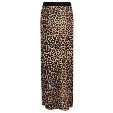 Ladies Womens Gypsy Long Jersey Maxi Dress Summer Skirt Ladies Skirt Size 8-26