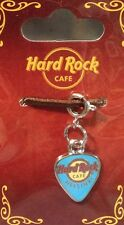 "Hard Rock Cafe HELSINKI GUITAR PICK ""CHARM"" for BRACELET (SKY BLUE) New!"